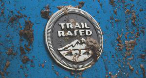 Бейдж Trail Rated