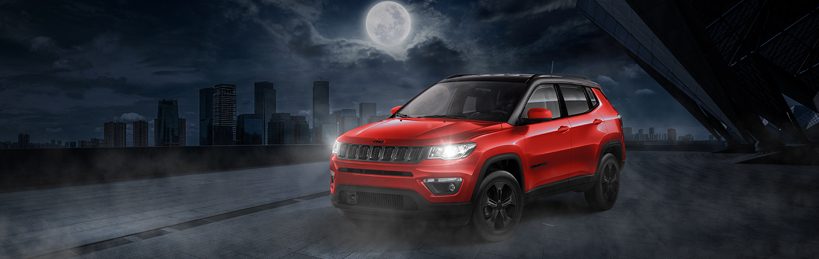 Новый Jeep Compass Night Eagle